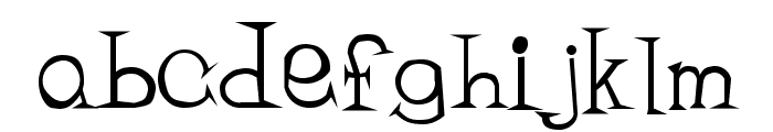 Bandit Regular Font LOWERCASE