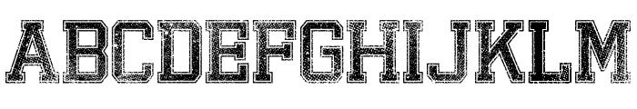 Bandung HardcoreGP Font UPPERCASE