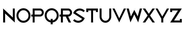 Bandy Regular Font UPPERCASE