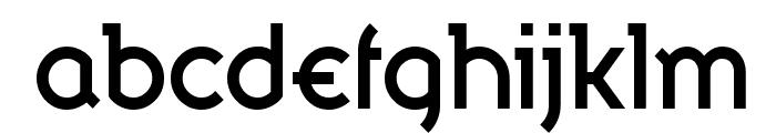 Bandy Regular Font LOWERCASE