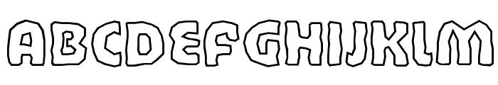 BandyCyr Font LOWERCASE