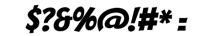 Bangers Regular Font OTHER CHARS