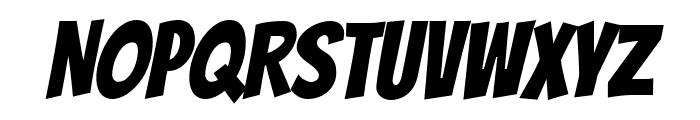 Bangers Regular Font UPPERCASE