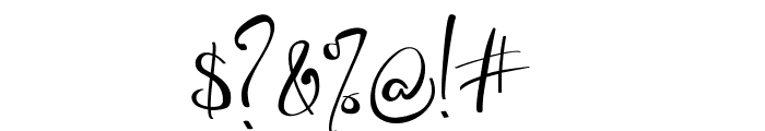 Banggar Font OTHER CHARS