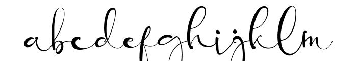 Banggar Font LOWERCASE