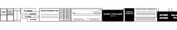 Bank Visit JL Font UPPERCASE