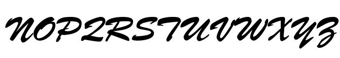 Bankoli Bold Font UPPERCASE