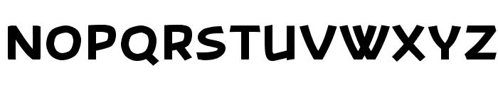 Banksia-Black Font UPPERCASE