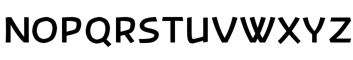 Banksia-Bold Font UPPERCASE