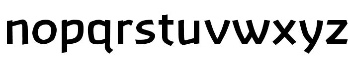 Banksia-Bold Font LOWERCASE