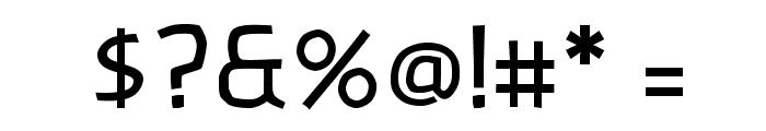 Banksia-Regular Font OTHER CHARS