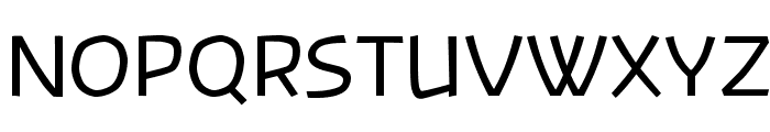 Banksia-Regular Font UPPERCASE
