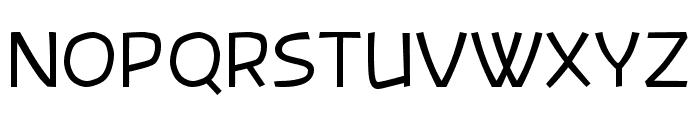 Banksia Font UPPERCASE