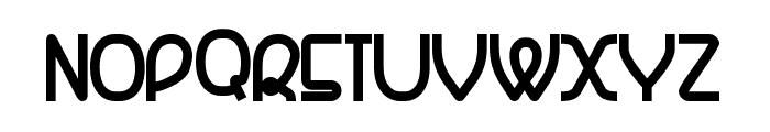 Banquetier-Black Font UPPERCASE