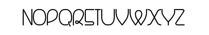 Banquetier Font UPPERCASE