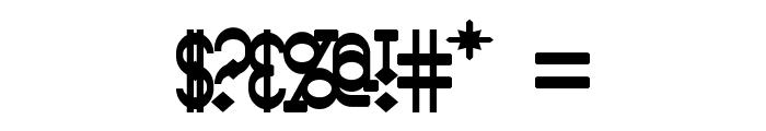 Bantorain Bold Font OTHER CHARS