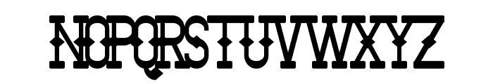 Bantorain Bold Font UPPERCASE