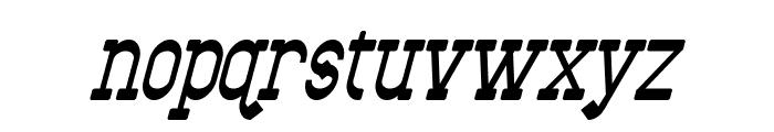 Bantorain Italic Font LOWERCASE