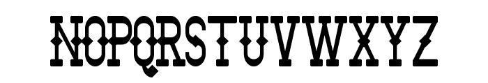 Bantorain Font UPPERCASE