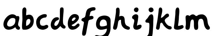 Baqa Font LOWERCASE