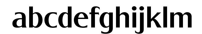 Baqacents Semi Bold Font LOWERCASE