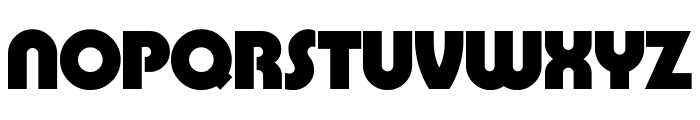 BarBender Bold Font UPPERCASE
