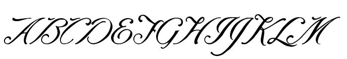 Baraquiel Font UPPERCASE