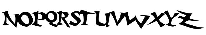 Baratz Font UPPERCASE