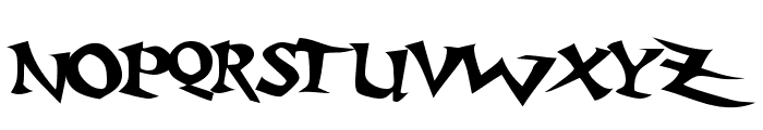 Baratz Font LOWERCASE