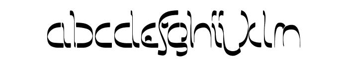Barbarjowe-Krzywki Font LOWERCASE