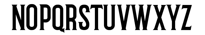 Barbaro Roman Font UPPERCASE
