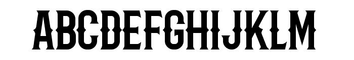 Barbaro Western Font LOWERCASE
