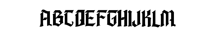 Barbatos Regular Font LOWERCASE