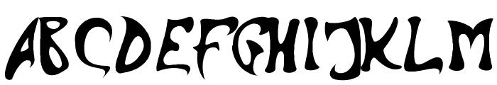 Barbed Ink Font UPPERCASE