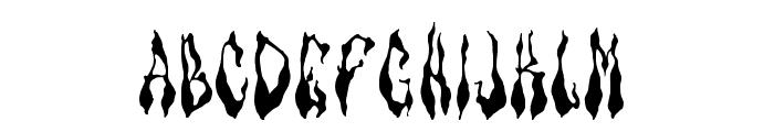 Barbeque Jr Font UPPERCASE