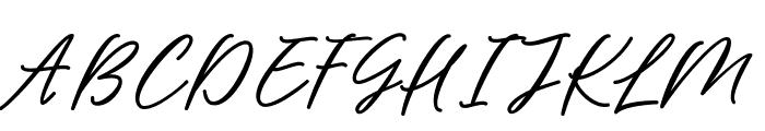 BarbequeFreeFont Font UPPERCASE