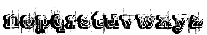 Barber shop Font LOWERCASE