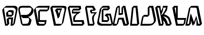 BarbibarianMarker-Regular Font LOWERCASE
