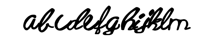 Barbie Font Beta Font LOWERCASE