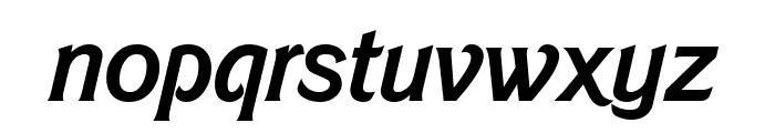 Barbie MediumItalic Font LOWERCASE