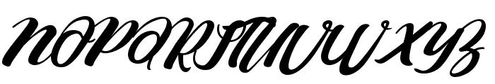 Barcely Font UPPERCASE