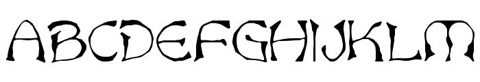Bard Font UPPERCASE