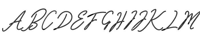 Bardeng Font UPPERCASE