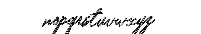 Bardeng Font LOWERCASE