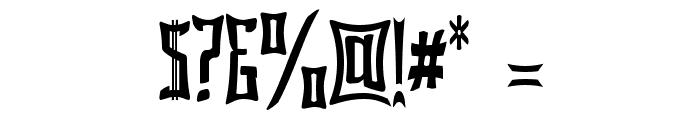 Bardour Font OTHER CHARS