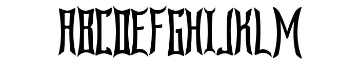 Bardour Font UPPERCASE