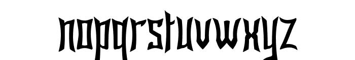 Bardour Font LOWERCASE