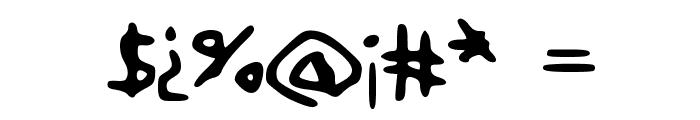 BareMinimum Font OTHER CHARS