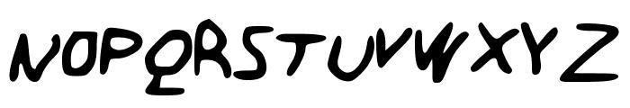 BareMinimum Font UPPERCASE