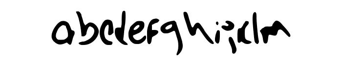 Barista_Grande Font LOWERCASE